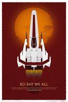 Battlestar Galactica 10th Anniversary Art Print Wall Sticker 50X75 Home Decor