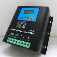 36V48V80A Solar Controller Off Grid Photovoltaic Power Generation Controller 80A Photovoltaic Power Station Foot Power