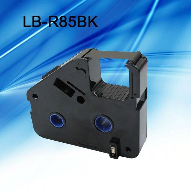 10 Pcs/lot encre ruban cassette LB R85BK noir pour câble ID imprimante électronique lettrage tube imprimante BEE200 et BEE200/PC