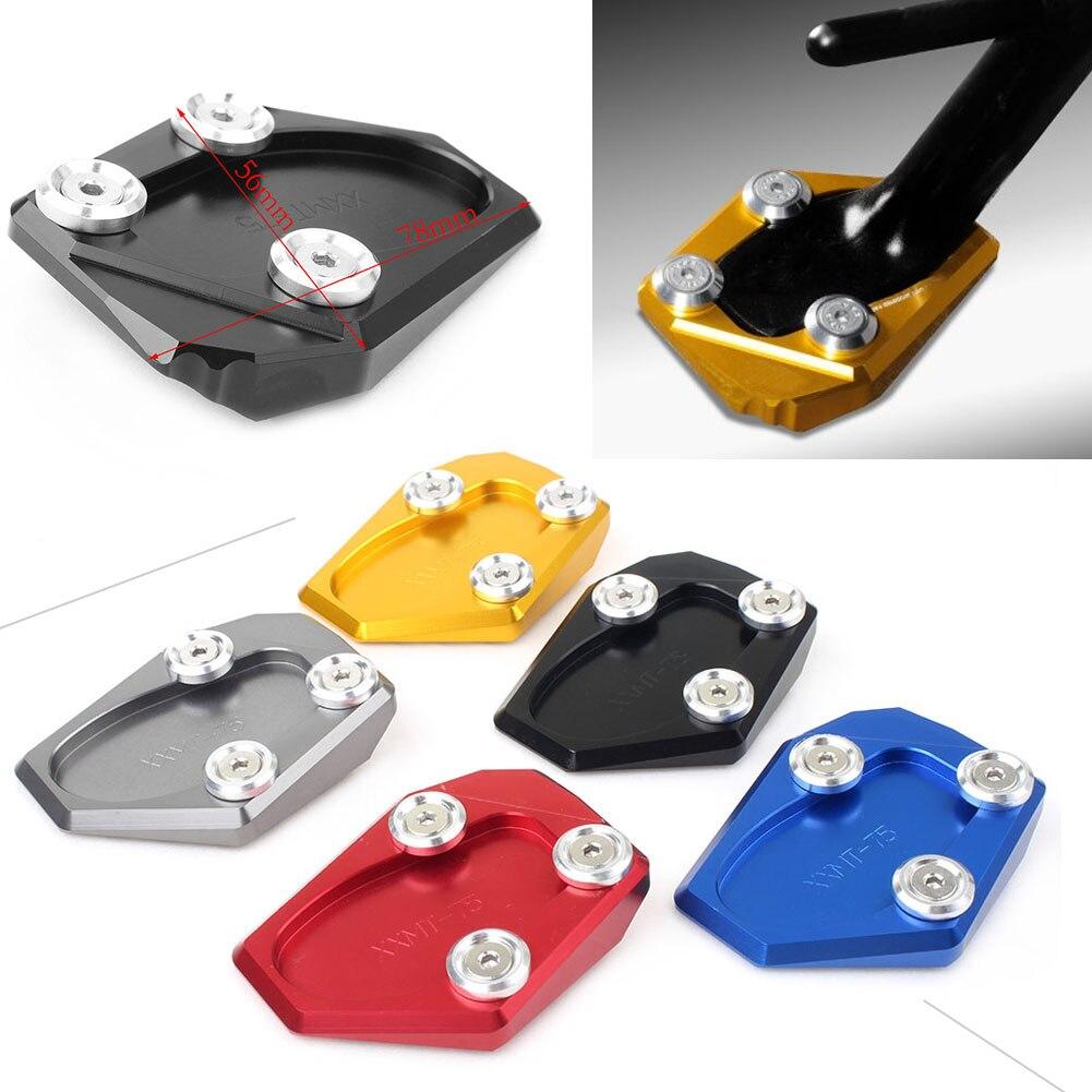 FZ-1 подставка для ног подножка сбоку расширение Pad Поддержка пластина для Yamaha FZ1 2006 2007 2008 2009 2010 2011 2012 2013 2014 2015