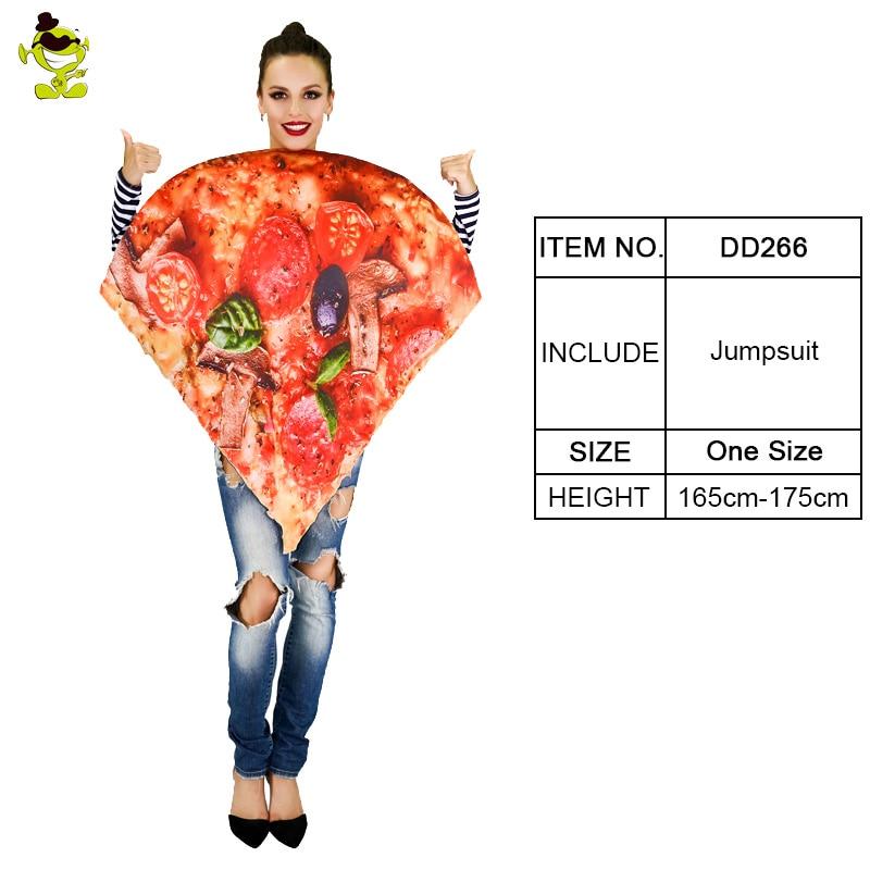 Adult Unisex Pizza Hat Pepperoni Slice Pie Cap Halloween Costume Womens Mens NEW