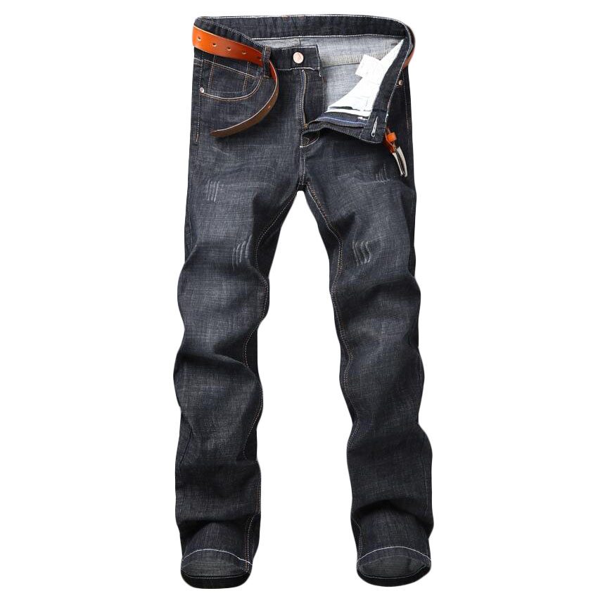 2019 New Design Men's Harem   Jeans   Fashion Men Washed Feet Shinny Denim Pants Hip Hop sweatpants Elastic Waist   jeans