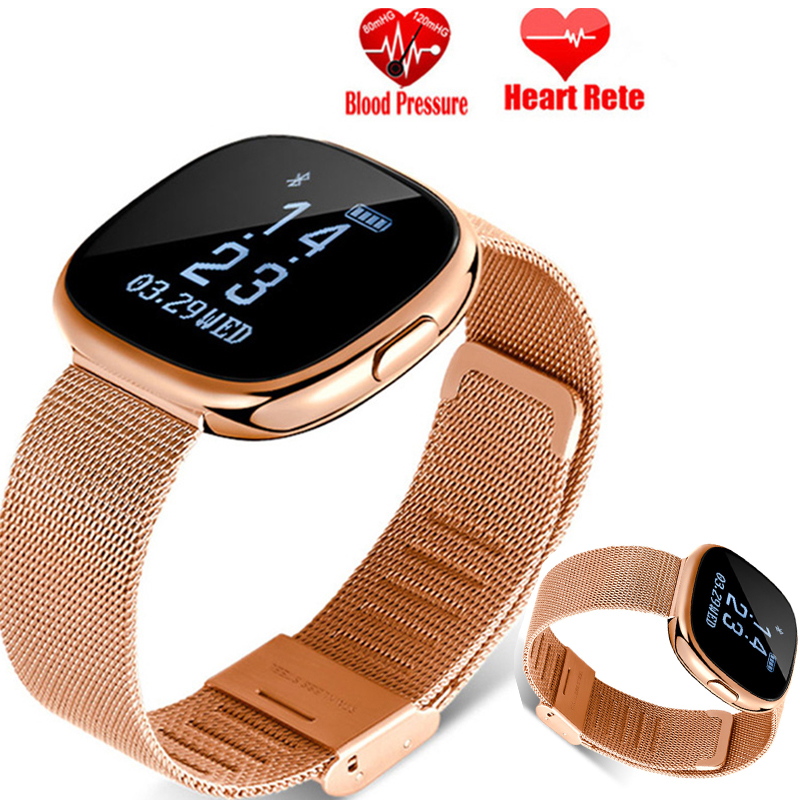 2018 nouvelle smartwatch montre de luxe hommes femme fréquence cardiaque podomètre Top craft production montre intelligente montres numériques bracelet intelligent