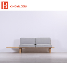 Heated wooden frame fabric upholstery sofa set designs for apartment
