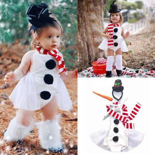 3abb649a178ad Detail Feedback Questions about 2018 New Fashion Xmas Kid Baby Girl ...