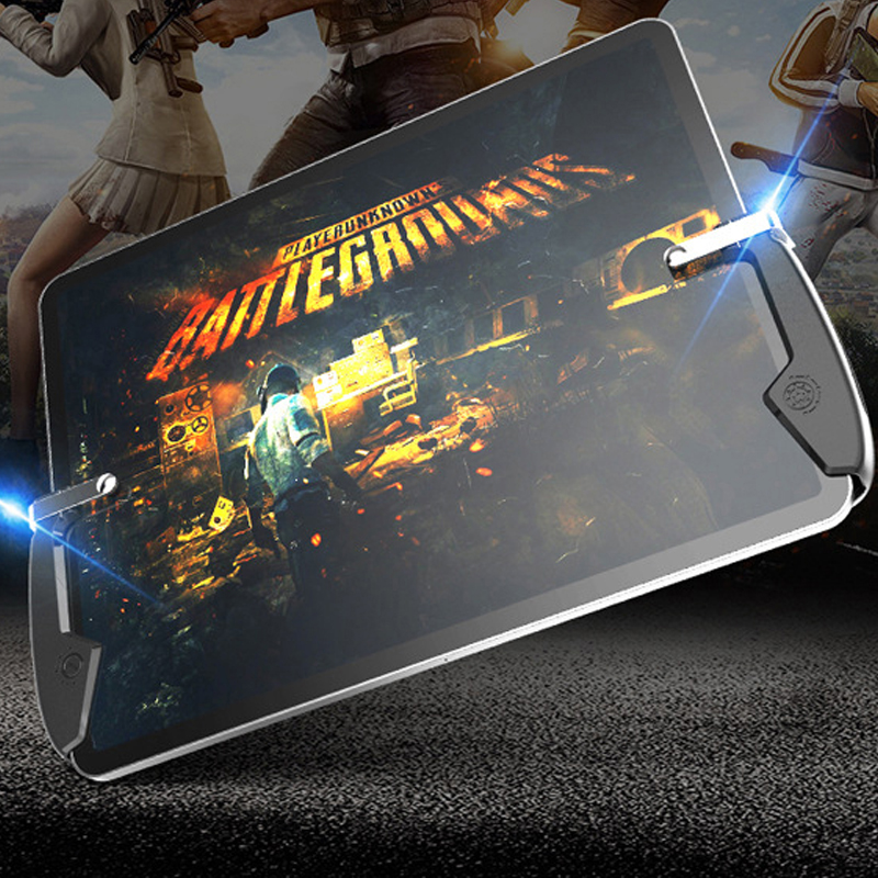 Tablet Dzhostik Pubg Mobile Shooting Game Gamepad Controller Triggers For Cell Phone L1R1 Trigger Fire Button Joystick For Ipad image