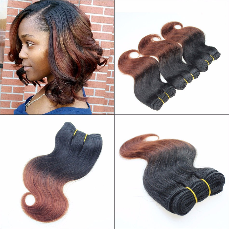 2016-Trendy-Bob-Short-Hairstyles-4Pcs-200g-8inch-Brazilian-Virgin-Hair-Body-Wave-Ombre-Hair-Extensions-(2)