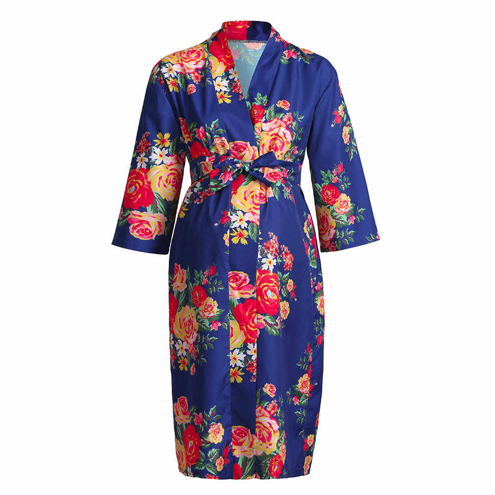 995c8a73ed3e9 Detail Feedback Questions about pregnant Women maternity dresses Nursing  Nightgown Breastfeeding Nightshirt Floral soft Sleepwear Dress Nursing  Clothes ...
