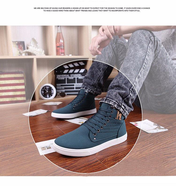 PU Ankle boots warm men boots winter shoes 17 new arrivals fashion flock men shoes 15