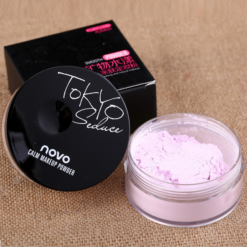 Long Lasting Loose Finishing Powde Matte Bare Face Whitening Skin Finish Transparent Powder Palette Mineral Makeup image