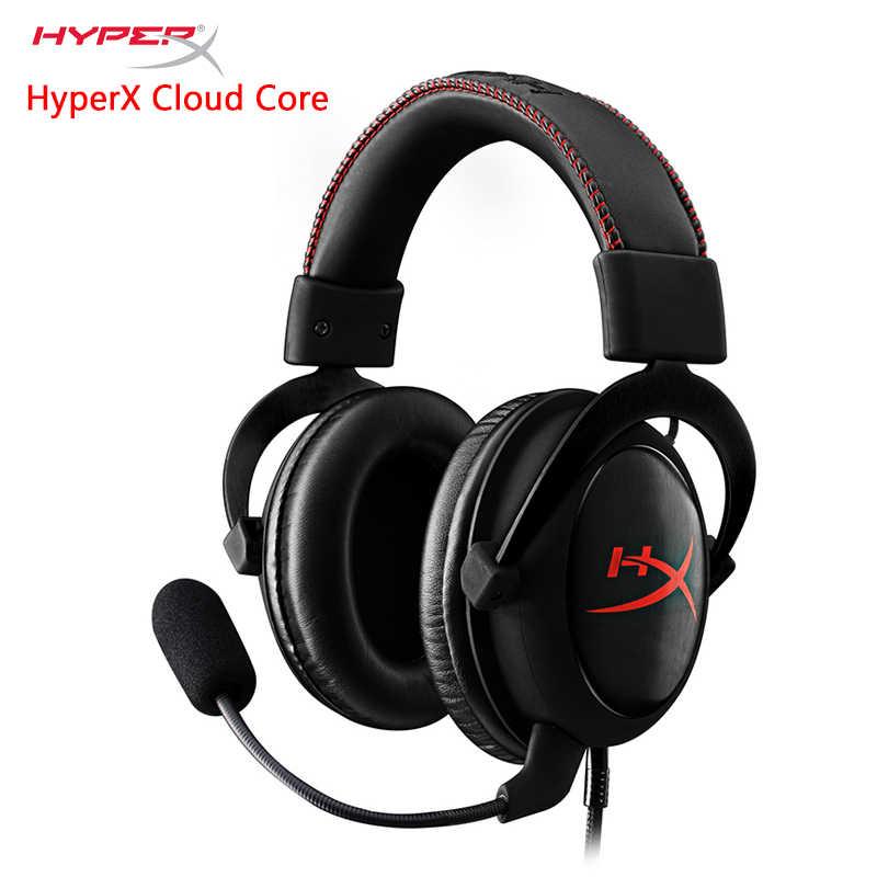 HYPERX Cloud Alpha Gold Edition core Игровая гарнитура многоплатформенная Совместимость наушники AMP USB звуковая карта продается отдельно
