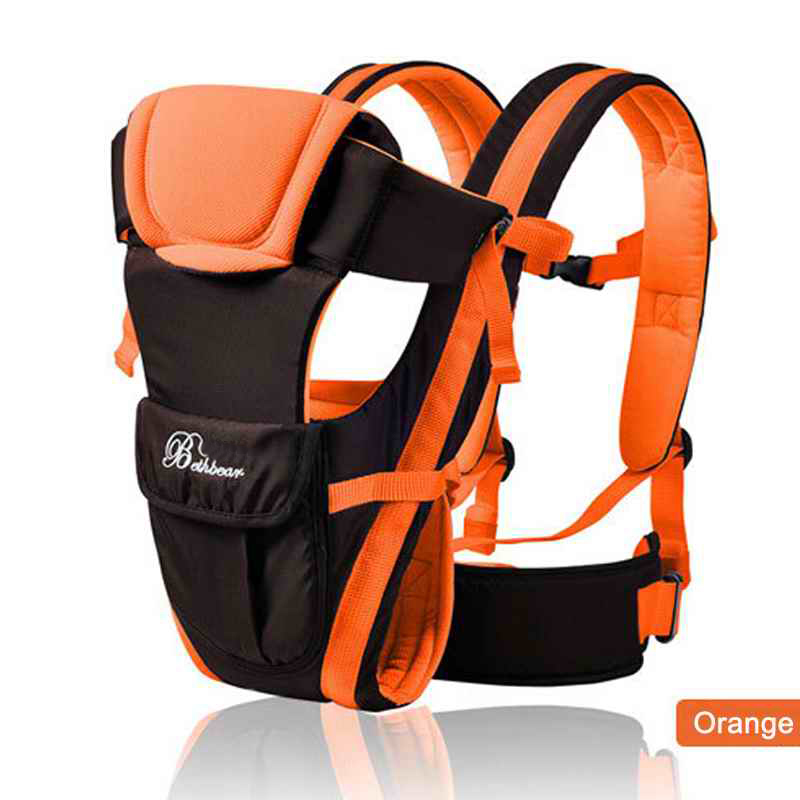 orange carry pack