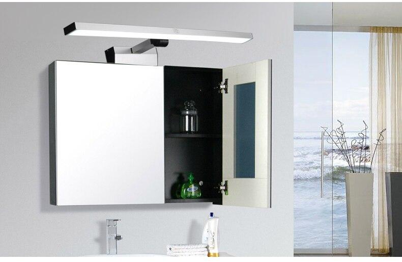 Badkamer Spiegelkast Lamp : Nieuwe badkamer spiegel verlichting spiegelkast front light lange