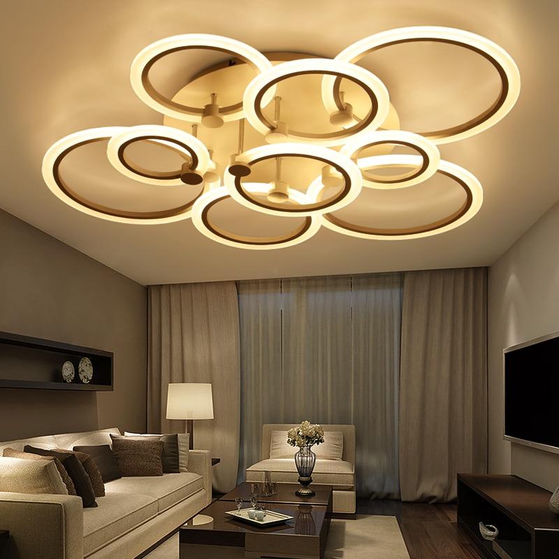 lustre de plafond led pendentif lustres moderne luminaire plafonnier salon chambre gradateur. Black Bedroom Furniture Sets. Home Design Ideas