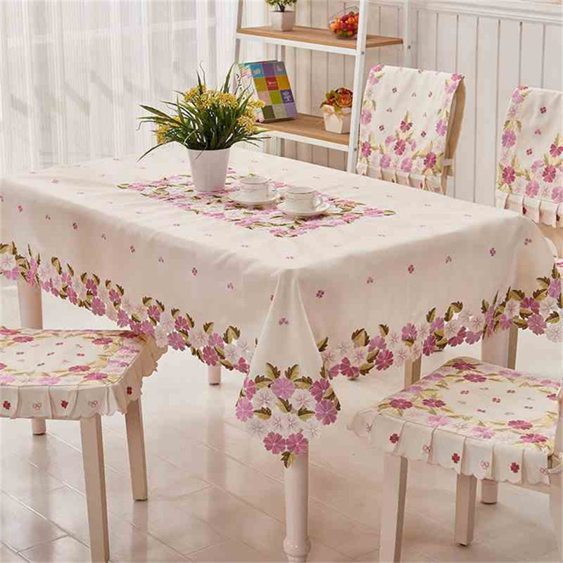 [WIT]85x85cm Round Tablecloths Square Cutwork Handmake Embroidered  Tablecloth Purple Floral Tablecloths Elegant Table Topper 1pc In Tablecloths  From Home ...