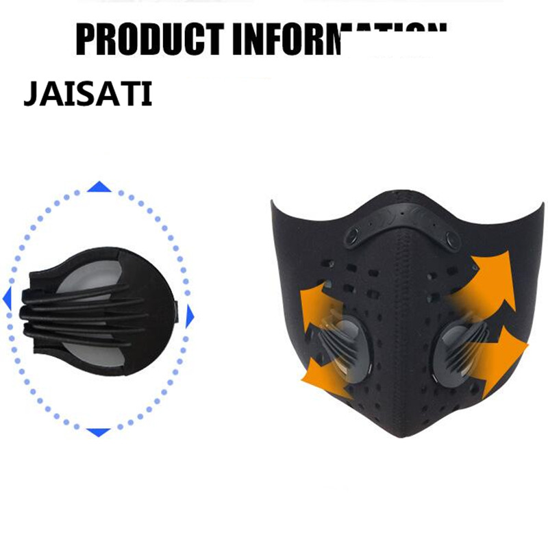 JAISATI Bike riding masks  running sports breathable washable warm cold outdoor dust protection half face dust  mask protective outdoor war game military skull half face shield mask black