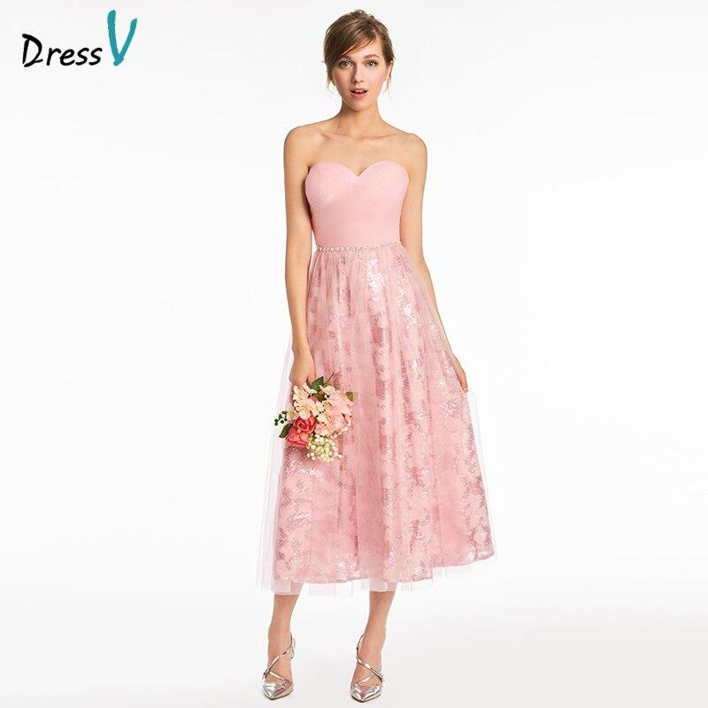 Bonito Vestidos De Dama Amor Del Cordón Ideas - Ideas de Vestido ...