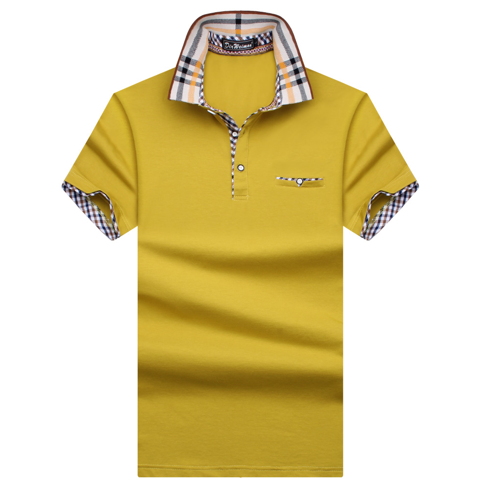 New Arrival 2019 England style  Men Polo Shirt Summer Short Sleeve Polos Shirt Mens Solid  Shirt 95%  Cotton Plus size S-10XL