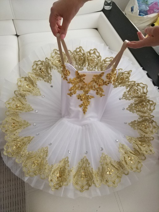 Professional Ballet Tutus Adult Swan lake Ballet Dance Clothes for girls Pancake tutu Child Ballerina Figure Skating Dress new children professional black ballet tutus blue ballet adult ballet dance clothes girl puff dress costume tutu dress women