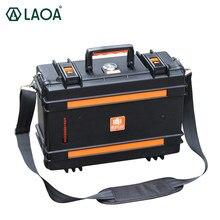 LAOA Sicherheit Box Instrument Box Wasserdichte Box mit Rad Fall Trolley Instrument Stoßfest Box Toolbox