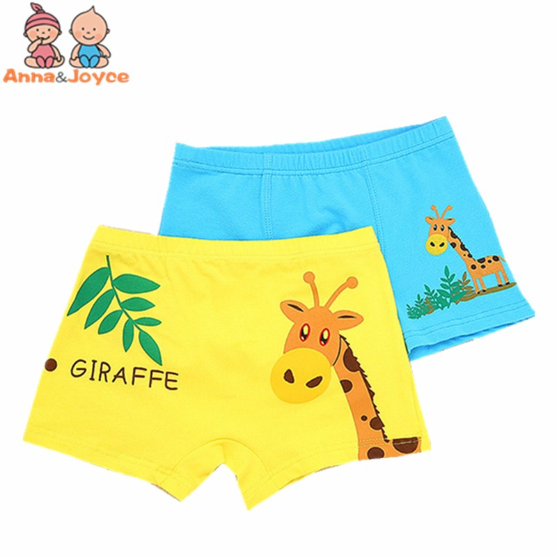 5pcs/lot New The Cartoon Boxer Boys  Underwear Cotton Children's Youngster Underpants Kids Panties Suit 2-10 Years