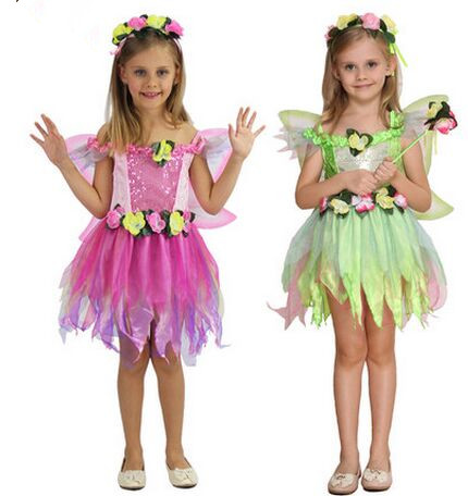 fairy costume girls costume children performance wear birthday dress butterfly costume flower costume for girls novelty dancer-in Girls Costumes from ...  sc 1 st  AliExpress.com & fairy costume girls costume children performance wear birthday dress ...