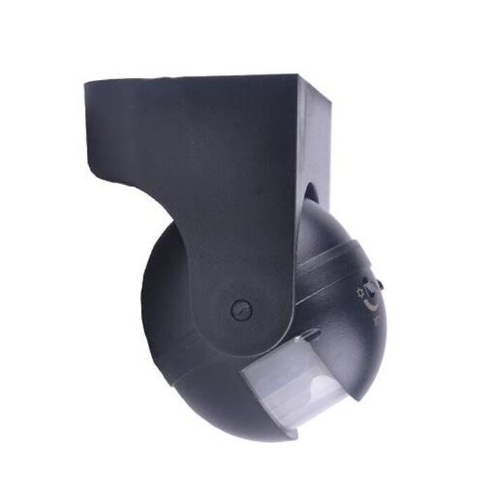 Купить с кэшбэком Hot Sales 110-240V 50Hz 180 Degree Outdoor Security PIR Infrared Motion Sensor Detector Movement Switch Two color 12 Meter