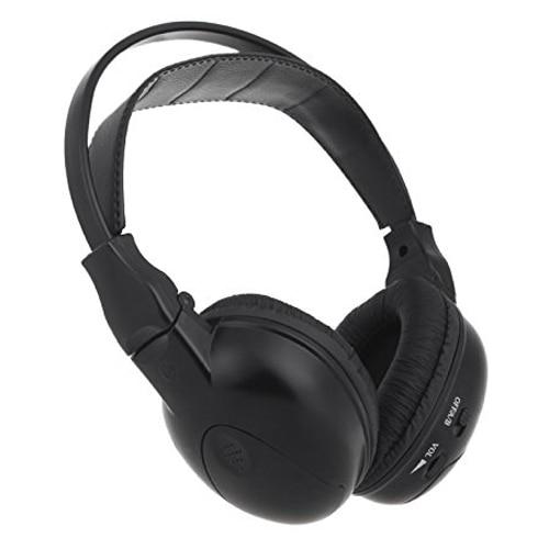 CES-Infrared Stereo Double-channel Wireless Earphones Headphones Headset IR Car Headrest DVD Player