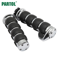 1 Pair 22mm 7 8 Motorcycle Handlebars Hand Grips With Palm Rest Throttle Assist For Honda