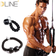 dline Resistance band Biceps triceps rope rope pull down compression training device pull rope fitness equipment