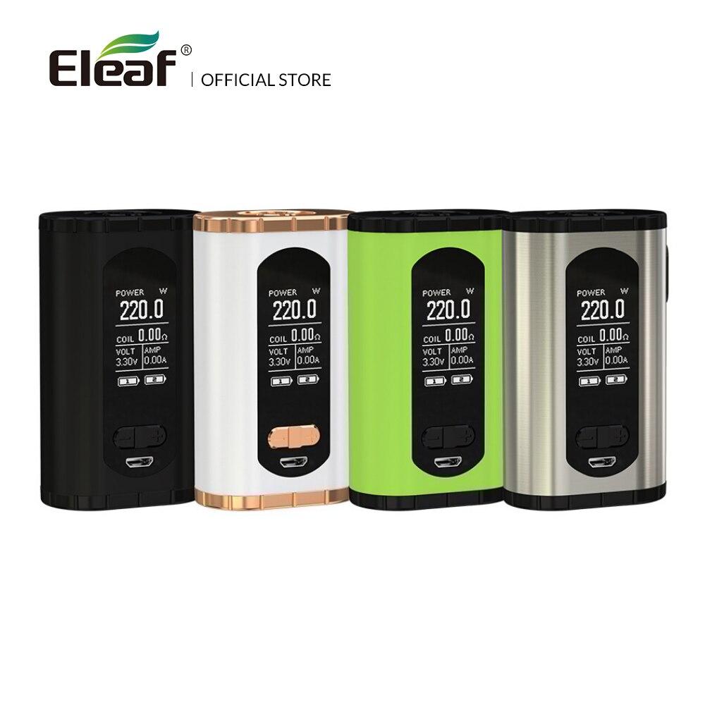 Original Eleaf Invoke Box MOD 220W Larger 1.3-inch Display Screen 510 thread Electronic Cigarette