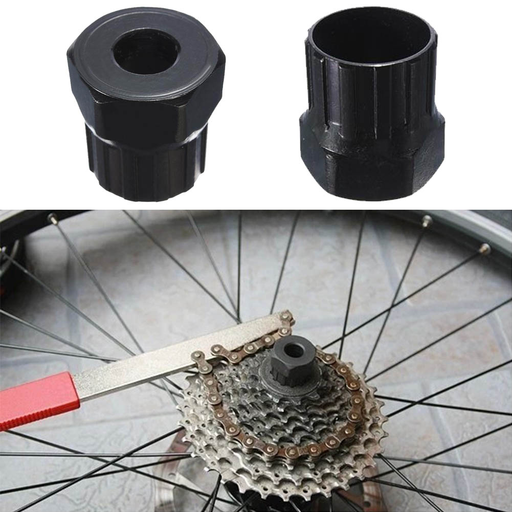 MTB Bike Cassette Rotating Freewheel Flywheel Lockring Removers Chain Whip Tool
