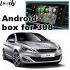 Android GPS Navigation Box Video Interface For Peugeot 308 MRN SMEG System With Cast Screen