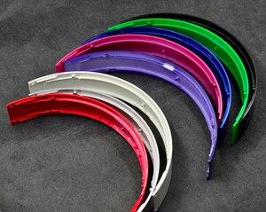 Image 5 - צבע ברק מבריק Defean למעלה בגימור ראש להקת להקות ברגי חלקי אוזניות hings סטודיו פעימות אוזניות אוזניות