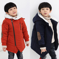 Thicken Infant Down for Baby Boys 2018 New Winter Hooded Kids Coats Cotton Boys Parka Snowsuit Korean Children Clothing 3dp030