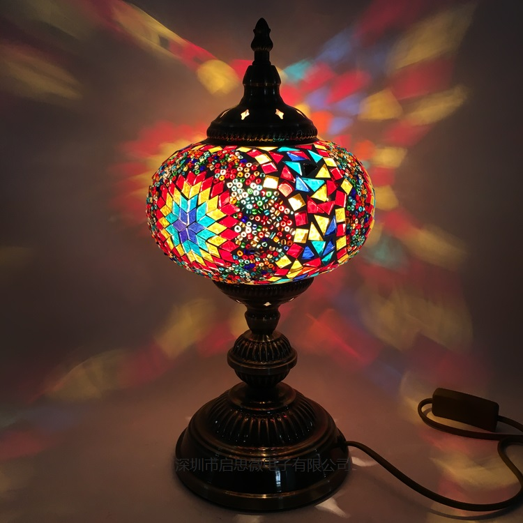 E14 Lamp Newest E14 Hand Inlaid Glass Mosaic Bedroom Living Room