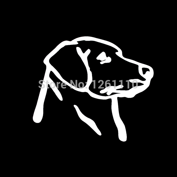 Pcslot Labrador Dog Vinyl Sticker Colors Decal Duck Hunting - Sporting dog decals