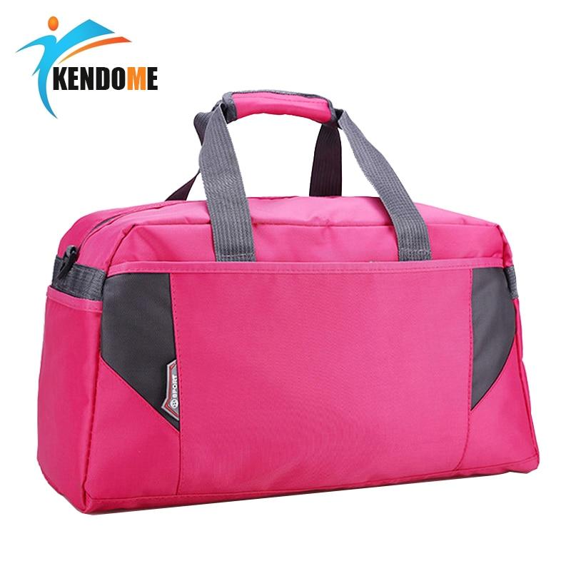 Hot Nylon Sport Gym Bag Outdoor Waterproof Women Handbag School Fitness Bag For Men Training Camping Female Yoga Duffel Bag