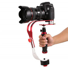 Kamera sabitleyici Pro DSLR Video sabitleyici el Steadycam profil kolu Gopro Canon Nikon kamera akıllı telefon kamera