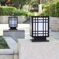 (WECUS) настенный столб лампа  Открытый Двор Пейзаж прямоугольная настенная лампа  дверь колонна лампа водонепроницаемый вилла сад ворота све...
