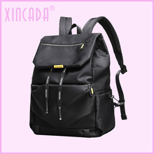 XINCADA Slim Strap Women Girls Luxury Black Backpack Female Fashion Rope Design Water Resistant College Sumka Dropship