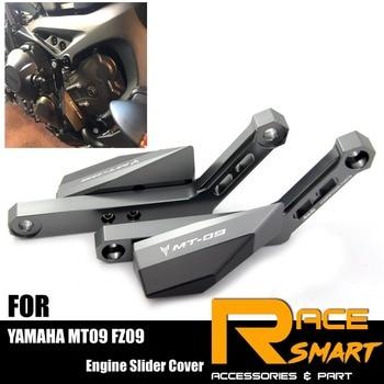 1 Set Engine Crash Bunds Pads For YAMAHA MT 09 2015-2017 Slider Protector MT09 MT 09 MT-09 FZ 09 FZ09 FZ-09 14 15 16 17 фото