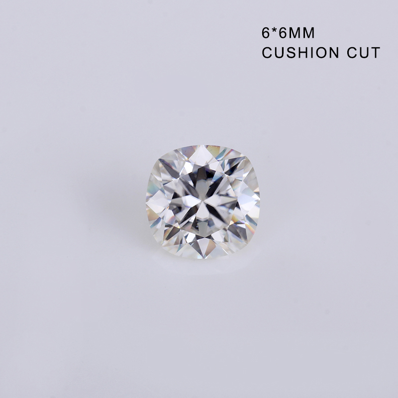 Us 150 0 Hot Sales Ef Color White 6 6mm Cushion Cut Diamonds Moissanites Loose Stone For Jewelry Making In Loose Diamonds Gemstones From Jewelry