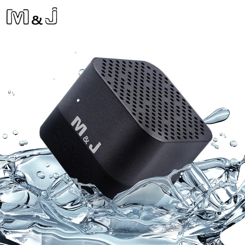 M&J A15 Bluetooth Speaker Mini Portable Wireless Speaker IPX6 Waterproof Kalonki Sound Box Blutooth Boombox For Computer Phone