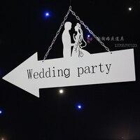 Свадебные тарелки для установки на доску Свадебные приветственные открытки свадебные реквизиты 2 шт./партия