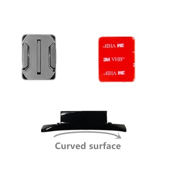 4 PCS Flat Curved Mount Set Sticker 3M Adhesive for Gopro Hero 8 7 6 5 4 3+ Xiaomi Yi Action Camera For Go pro Accessories GP10 1