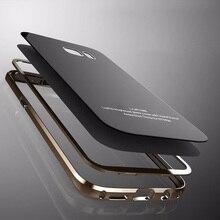 Для Samsung S7 edge чехол с 9 H Стекло чехол для Samsung Galaxy S7 край чехол роскошь для Samsung Galaxy S7 край крышки S7edge