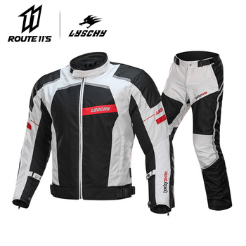LYSCHY Summer Black Reflective Motorcycle Jacket Protective Men Motorbike Motocross Racing Coat Sportswear Gear Clothing motorcycle jacket men summer moto protective gear jacket men racing reflective oxford clothing motorbike jackets