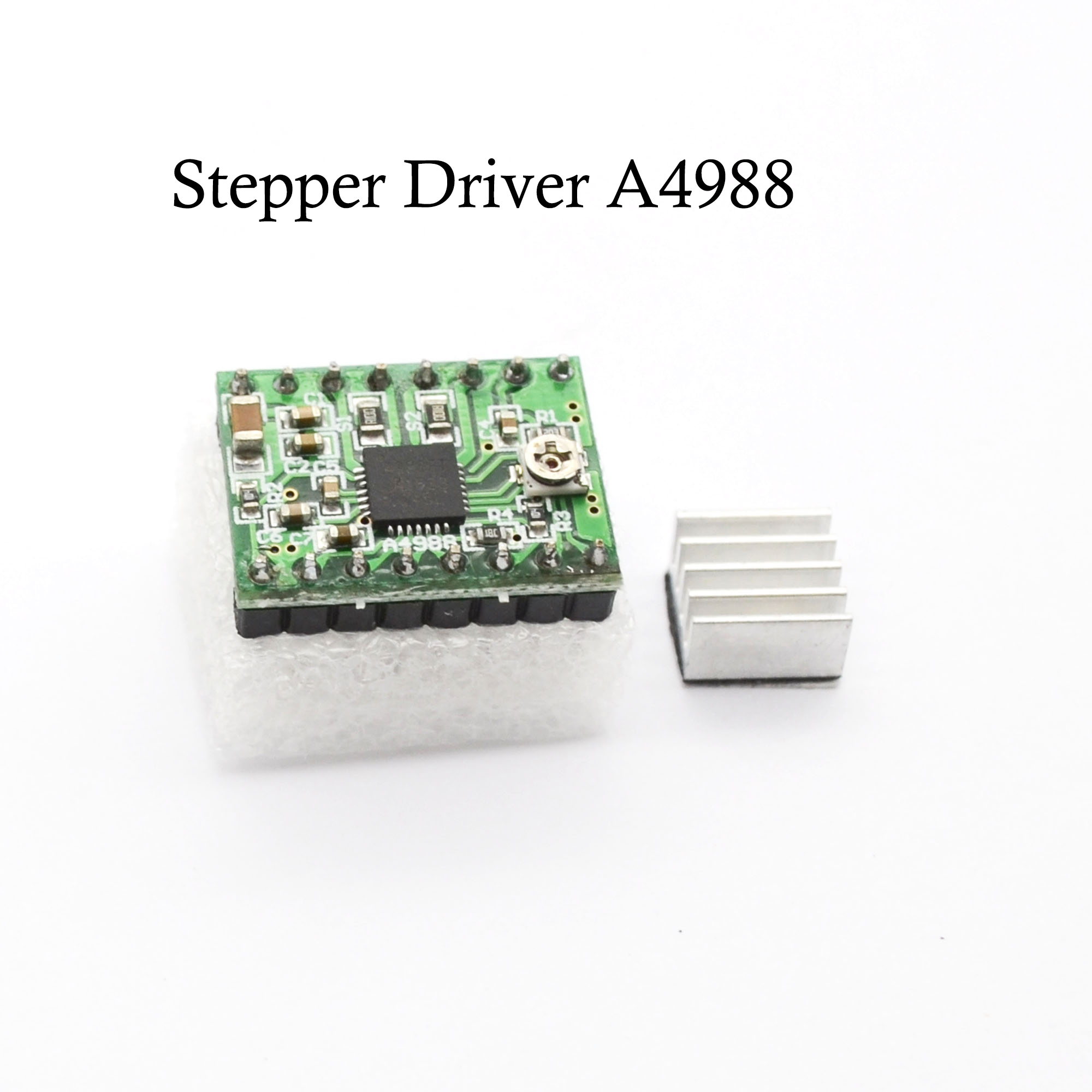 3D printer parts StepStick a4988 for Reprap Ramps 1.4 Step motor driver HR-A4988 drive board motherboard with Heatsink