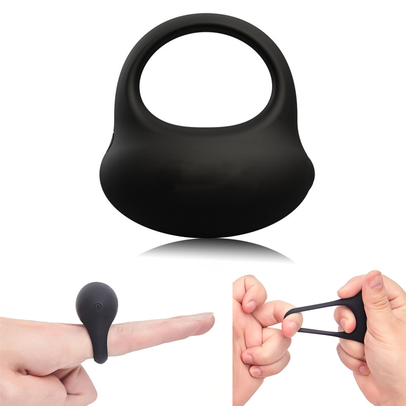 USB Charging Penis Ring Male Lock Cock Rings Dick Vibrator Adult Sex Toys For Men Delay Last Sperm Time Penis Rings Sex Products svakom penis cock ring vibrator sex toys for men silicone cockring clitoris stimulator vibrating adult erotic sex products shop